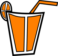 Как пить свежевыжатый апельсиновый сок